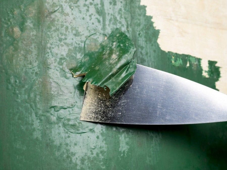 Как убрать старую фасадную краску: 3 популярных способа