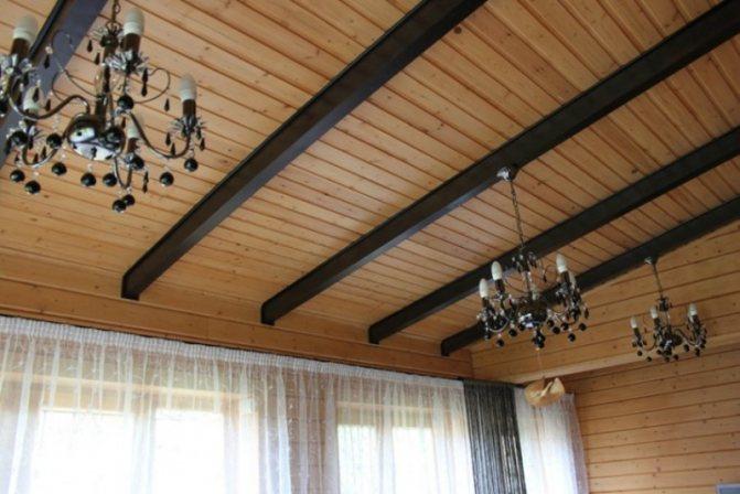Конструкция потолок частного дома