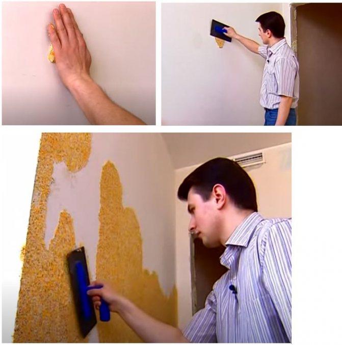 Рисунки жидкими обоями: декорируем стены своими руками